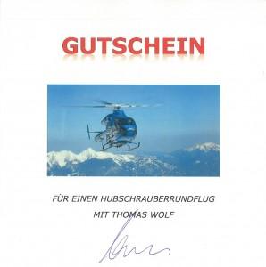 Gutschein-Wolf