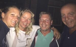 Claud, Tries, Rob & Dirk